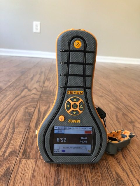 Measure Moisture Content in Wood