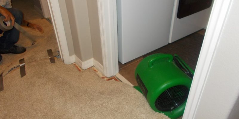 Dry out Walls After Water Damage